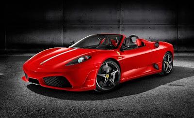 2009 Ferrari 430 Scuderia Spider 16M red front
