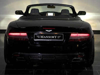 2008 Mansory Aston Martin DB9 rear