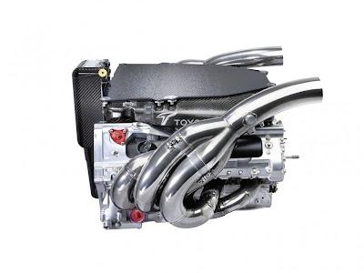 2009 Panasonic Toyota TF109 engine