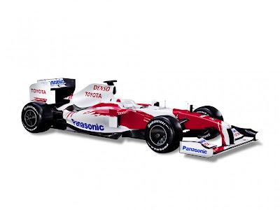 2009 Panasonic Toyota TF109