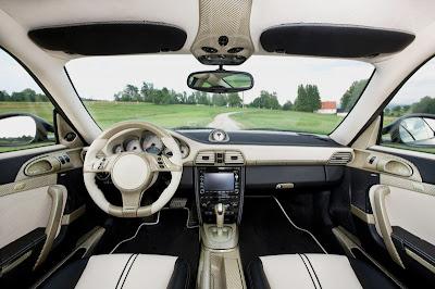 2009 Mansory Porsche 911 Carrera interior