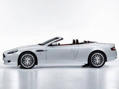 2009 Aston Martin DB9 Volante side