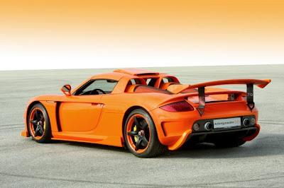2009 Konigseder Porsche Carrera GT rear