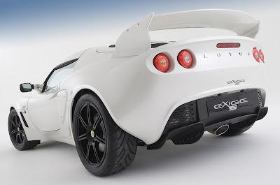 2010 Lotus Exige S rear