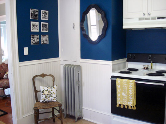 Navy Blue Kitchen Walls With White Cabinets with blue walls bedroom