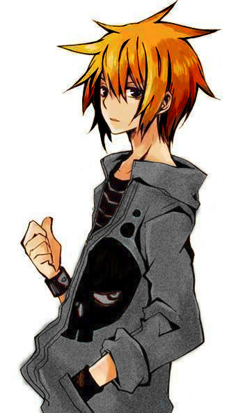 anime guys with red hair. Personality: Keeps to himself.