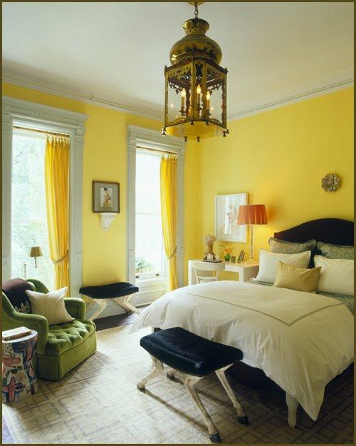 Dekorasyon Bilgileri Yatak Odası Duvarlarında Renk Seçimi