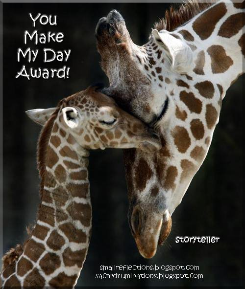 [Giraffes-YouMakeMyDayAward-storyteller.jpg]