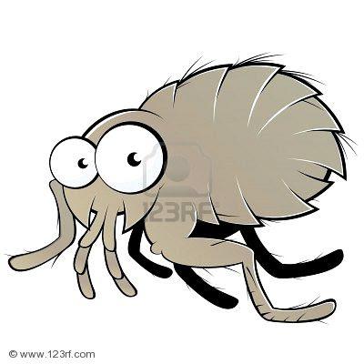 Cartoon flea - photo#3