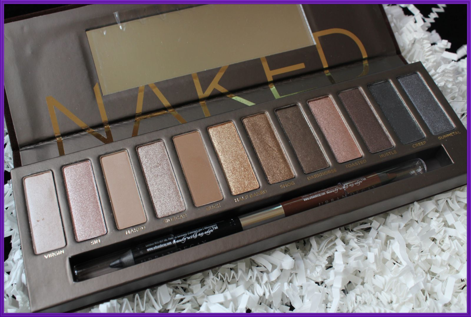 glamourbykat urban decay naked palette. Black Bedroom Furniture Sets. Home Design Ideas