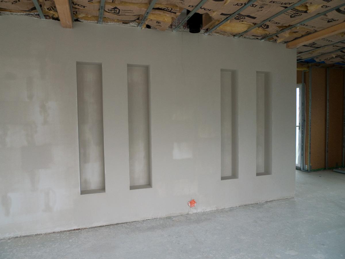 Le pr du clos un mur bien pl tr - Renover un mur en platre ...