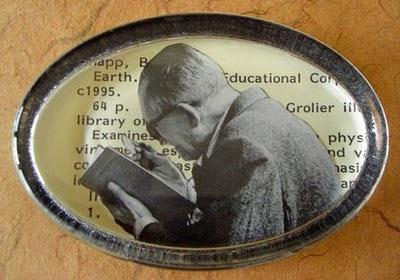 book inspector paperweight