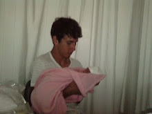 Este é o meu filhote Nuno com a sobrinha
