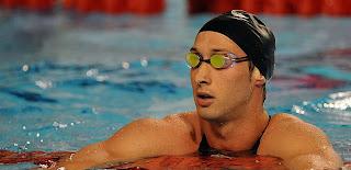 Fabien Gilot dans l'eau