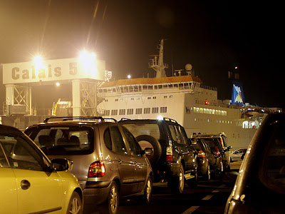 P&O Ferry at Calais