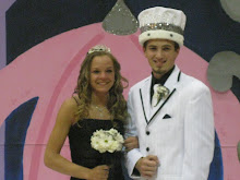 Miss Queen and Mister King...prom queen my daughter and prom king, her fiance'...