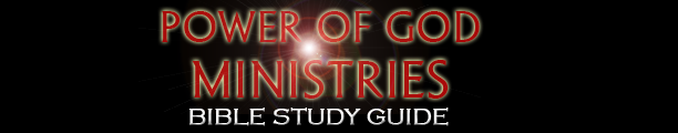Power of God Ministries Bible Study