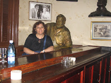 Hemingway y Cecilia Palma, La Habana, 2008