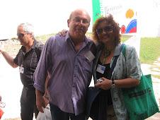 Miguel Barnet y Cecilia Palma, La Habana 2008