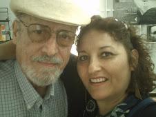 Roberto Fernández Retamar y Cecilia Palma, La Habana 2008