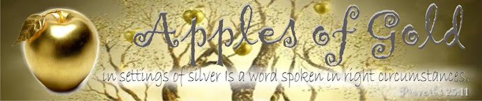 Apples of Gold Proverbs 25:11