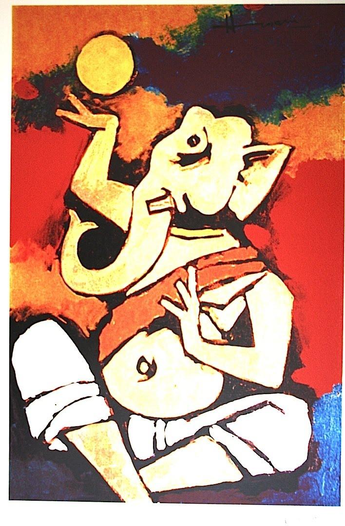 Best Paintings Of Mf Hussain