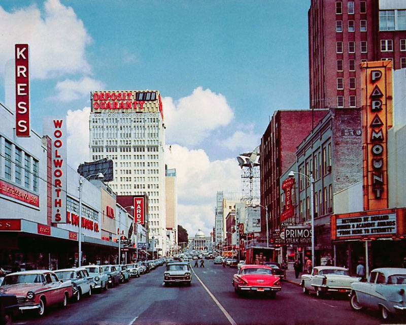 Pic Of Capitol Street In Downtown Jackson 1950 S