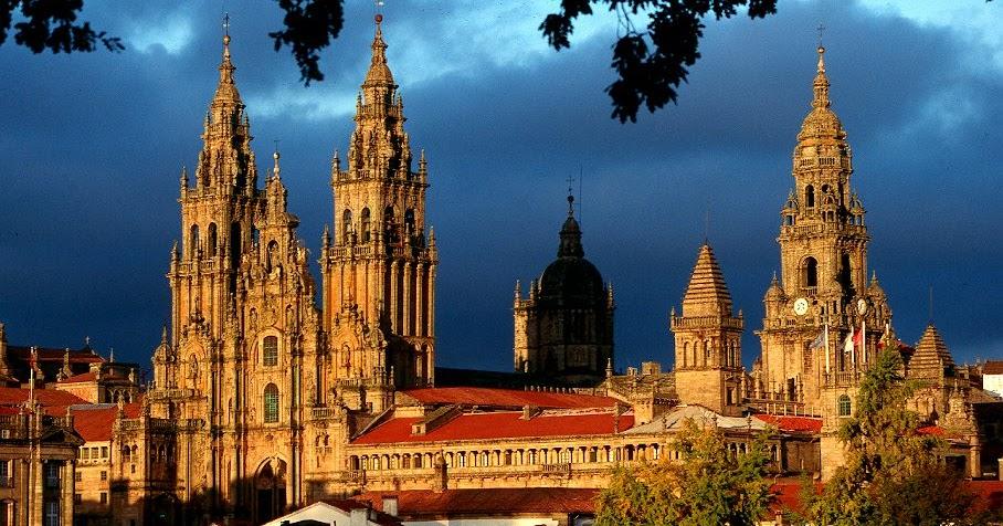 Todo arte arte rom nico espa ol arquitectura catedral de santiago de compostela - Santiago de compostela arquitectura ...