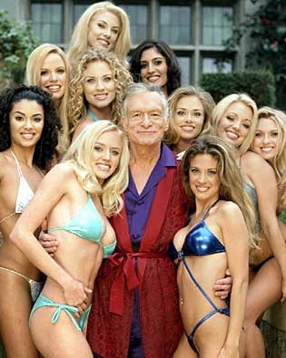 HUGH HEFNER SEXY GIRLS