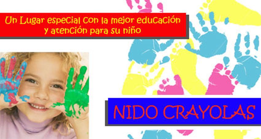 NIDO CRAYOLAS