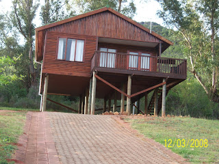 Tours of africa my vacation oudtshoorn camels Log cabin homes on stilts