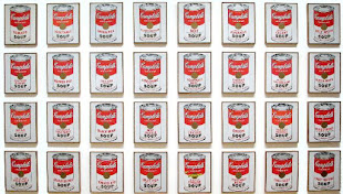Campbell Soup Cans - Andy Warhol