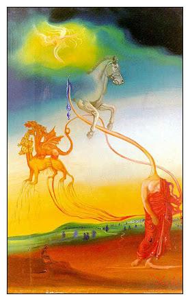 The Second Coming - Salvador Dali