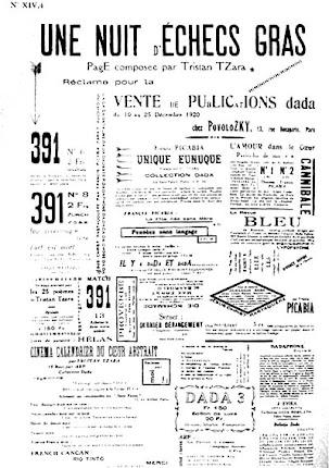 Tristan Tzara Une-Nuit-d-Echecs-Gras 1920
