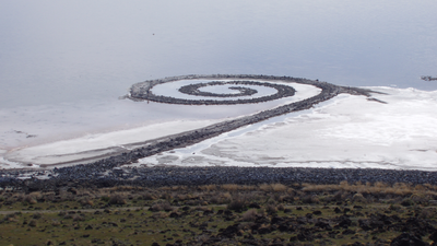 Spiral Jetty - Robert Smithson