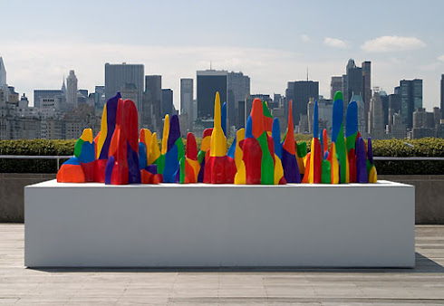 Sol LeWitt on the Roof: Splotches, Whirls and Twirls