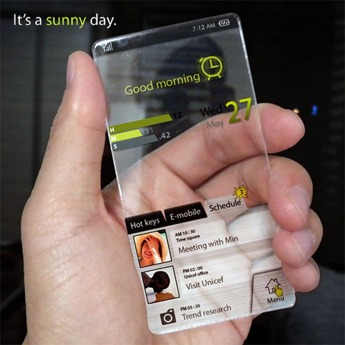 Mix Possessions: New Window Phone Concept