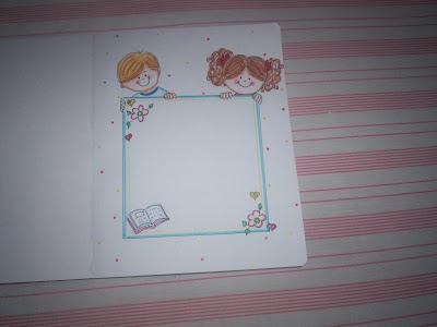 Este dibujo es una decoracion para libretas.