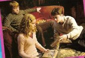 Hermione, Ron, and Harry