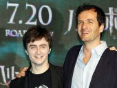 Daniel Radcliffe and David Heyman