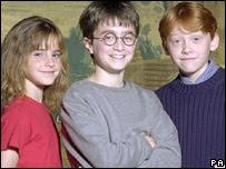 Emma, Daniel, and Rupert circa 2000
