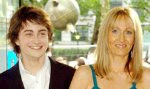 J.K. Rowling and Daniel Radcliffe