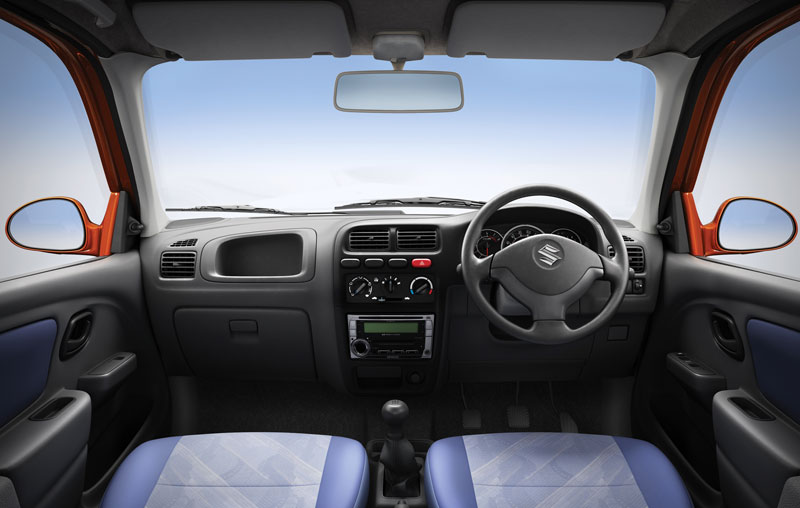 Maruti suzuki alto k10 autoesque for Interior decoration of maruti 800