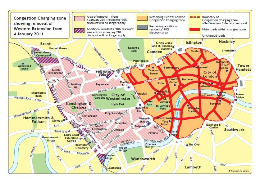 London Congestion Charge&nbspTerm Paper