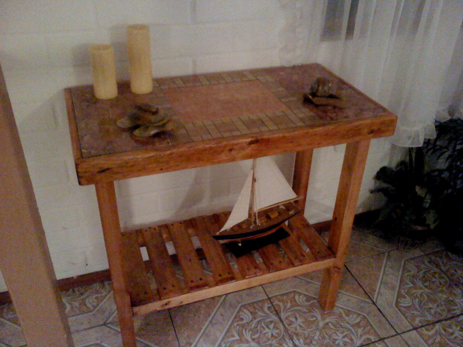 Muebles rusticos buin mesas de arrimo - Muebles de pino rusticos ...