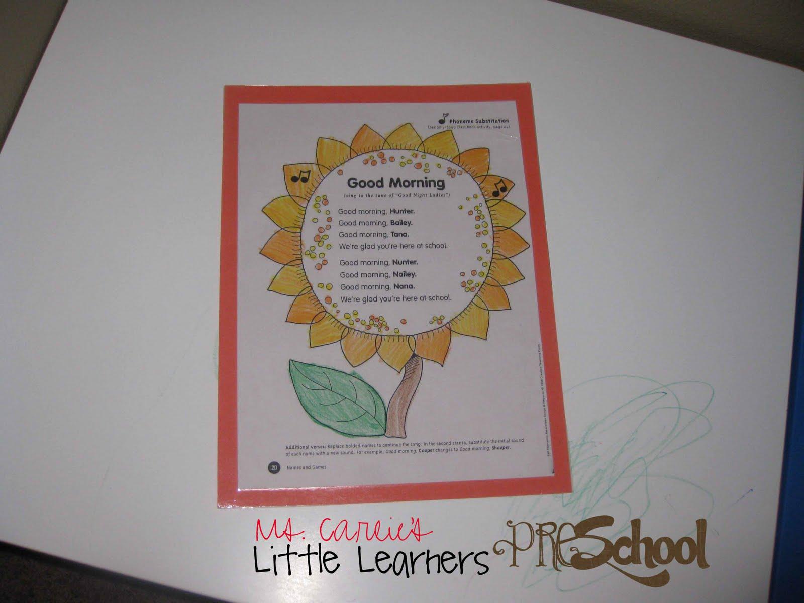 Ms Carlies Little Learners Preschool September Week One