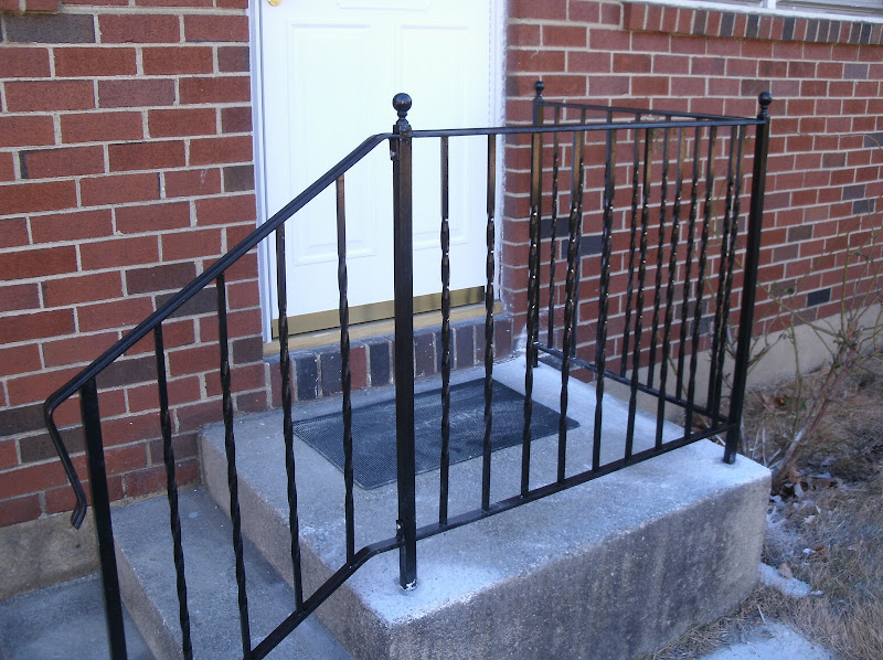 Embedded Wrought Iron Railing Designs title=