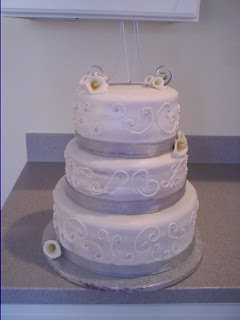 Lick Your Lips Cakes: Gary and Heather's Wedding Cake
