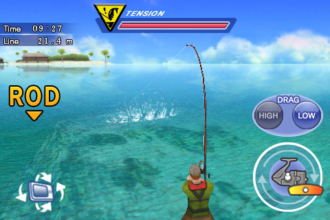 Your edge to iphone win 7 theme and apps gt lurefishing for Fishing reel ringtone