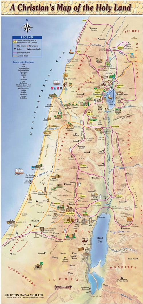 Holy Sites For Christians in Israel
